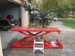 motorcycle lift table plans motorcycle lift table atlas vs handy page 3
