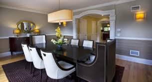 paintingwall2colors fair dining room color ideas with chair rail