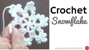 crochet snowflake ornaments diy home decor