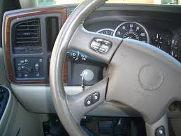 02 escalade steering wheel control removal