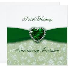 55th wedding anniversary happy 55th anniversary gifts wedding invitations