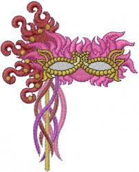 mardi gras embroidery designs mardi gras mask embroidery design annthegran