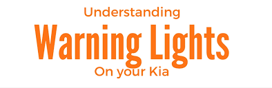 kia sedona tpms light kia warning lights and their meanings