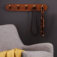 mid century hook rack acorn west elm