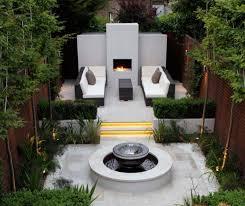 landscape modern landscape design plan for backyard with cube