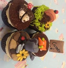 Easter Cupcake Decorations Nz by Tutorial On Our Garden Easter Cupcakes Cake Decorating Blog
