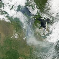 Current Wildfires In Canada by Canadian Fires Send Smoke Over The U S Natural Hazards
