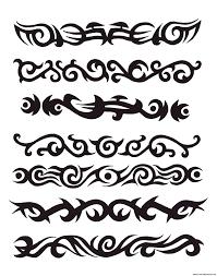 tribal armband tattoos3 tattoosdesigns more designs at