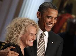 Carol King by Carole King Honored With Gershwin Prize White House Concert Upi Com
