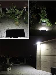 upgraded radar motion sensor 48leds 800lm aluminum solar lamp