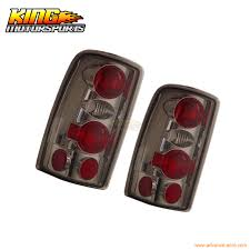 2006 silverado tail light assembly for 2000 2006 chevy suburban tahoe tail lights smoke ls usa