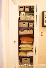 linen closet graceful order