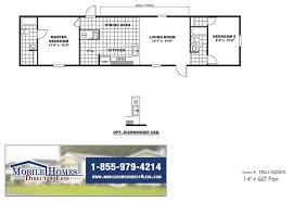 two bedroom cottage floor plans trumh pep delight tru14602a 2 bedroom mobile home for sale