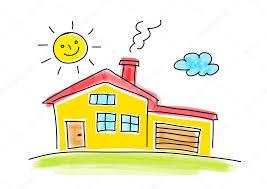 casa disegno disegno di casa su sfondo bianco â vettoriali stock â anthonycz