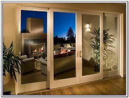 Secure Sliding Windows Decorating 4 Panel Pocket Door Patio Doors And Pocket Doors