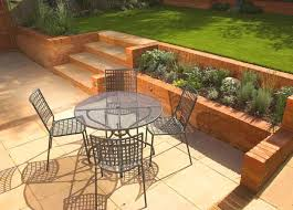 Sloping Garden Ideas Photos Terrace Front Yard For To Play Search Landscape