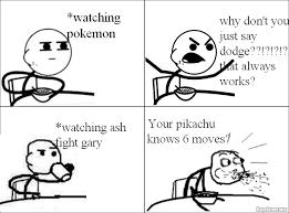 Cereal Man Meme - ragegenerator rage comic cereal guy watches pokemon