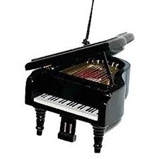 musical instrument ornament 3 5 black