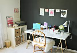 How To Paint An Accent Wall by Black Accent Wall And Office Updates Shannon Claire
