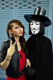 v for vendetta costume v for vendetta and hot girl2 by ealectron on deviantart