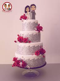 wedding cake romantique rouge un jeu d u0027enfant cake design