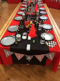 Birthday Table Decorations by Cobalt Events Kids Party Cars Birthday Table Decor Cars