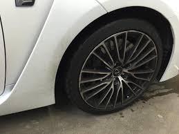lexus rc f brakes 2015 lexus rcf new car prep cquartz uk paint coating get detailed