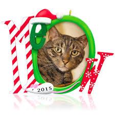 2015 cat s meow photo holder hallmark keepsake ornament hooked