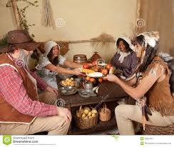 thanksgiving pilgrims royalty free stock photography
