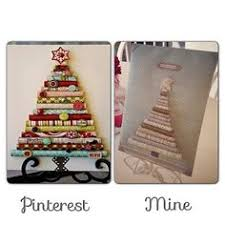 video tutorial rolled paper christmas tree canvas craft video
