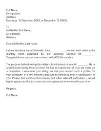 new business letter 4 sample business introduction letter