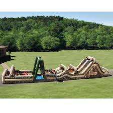 Obstacle The 85 Foot Inflatable Military Obstacle Course Hammacher Schlemmer