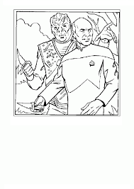 star trek coloring pages eson me