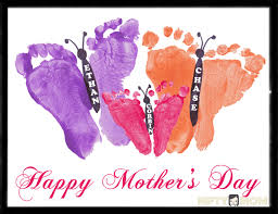 s day gift ideas from baby toddler footprint butterflies s day gift idea http