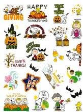 peanuts snoopy woodstock thanksgiving autumn