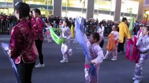 parade ribbon san francisco new year parade 2013 west portal elementary