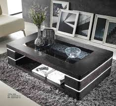 contemporary living room tables coffee table modern black the holland don t missing this in designs