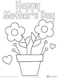 coloring pages mothers day flowers free printable happy mothers day coloring pages sheets paintings