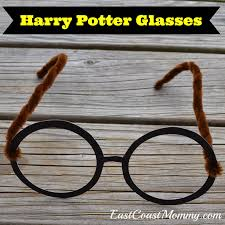 east coast mommy harry potter glasses and ties with free