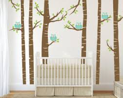 Removable Wall Decals For Nursery Owl Wall Decal Etsy