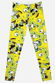 Spongebob Pajamas Meme - mocking spongebob bird meme leggings by kixlepixel redbubble