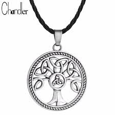 chandler celtic knot family tree of charm pendant