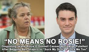Skank Meme - ultra disgusting washed up skank felon rosie o donnell now begs ben