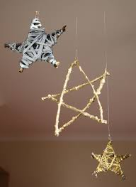 christmas crafts 1 make your own christmas star daily dose of art