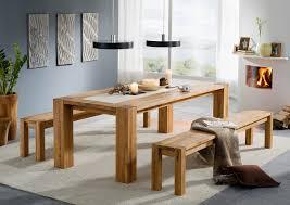 Esszimmertisch Wildeiche Tisch Wildeiche 200 X 100 Cm Füße 15cm Geölt