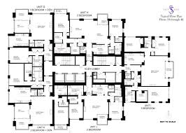 Rectangle Floor Plans 55 East Erie Floor Plans