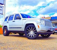 stanced jeep liberty images tagged with twentyinchwheels on instagram