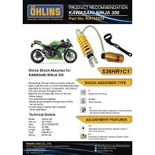 ohlins rear suspension ka110024