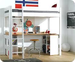 lit superpose bureau lit superpose 1 personne mezzanine blanc clay avec bureau ikea