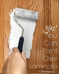 how to paint brown cabinets how to paint laminate cabinets without sanding the palette